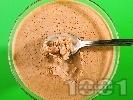 Рецепта Шоколадово парфе / крем с течна готварска сметана и жълтъци